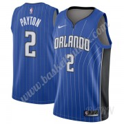 Barn Basketball Drakter Orlando Magic 2019-20 Elfrid Payton 2# Blå Icon Edition Swingman Drakt..