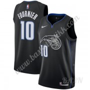 Barn Basketball Drakter Orlando Magic 2019-20 Evan Fournier 10# Svart City Edition Swingman Drakt..