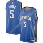 Barn Basketball Drakter Orlando Magic 2019-20 Mohamed Bamba 5# Blå Icon Edition Swingman Drakt..