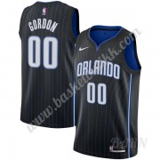 Barn Basketball Drakter Orlando Magic 2019-20 Aaron Gordon 00# Svart Icon Edition Swingman Drakt..