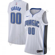 Barn Basketball Drakter Orlando Magic 2019-20 Aaron Gordon 00# Hvit Association Edition Swingman Dra..