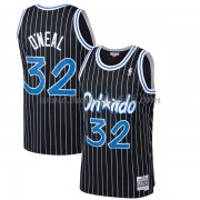 Orlando Magic Mens 1994-95 Shaquille O'Neal 32# Black Hardwood Classics..