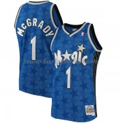 Orlando Magic Mens 2001-02 Tracy McGrady 1# Blue Hardwood Classics..
