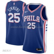 Barn Basketball Drakter Philadelphia 76ers 2018 Ben Simmons 25# Icon Edition Swingman..