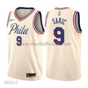 Barn Basketball Drakter Philadelphia 76ers 2018 Dario Saric 9# City Edition Swingman..