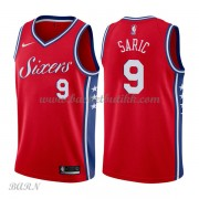 Barn Basketball Drakter Philadelphia 76ers 2018 Dario Saric 9# Statement Edition Swingman..