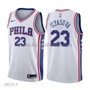 Barn Basketball Drakter Philadelphia 76ers 2018 Ersan Ilyasova 23# Association Edition Swingman..