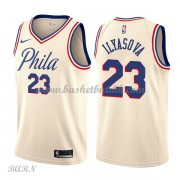 Barn Basketball Drakter Philadelphia 76ers 2018 Ersan Ilyasova 23# City Edition Swingman..