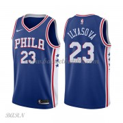 Barn Basketball Drakter Philadelphia 76ers 2018 Ersan Ilyasova 23# Icon Edition Swingman..