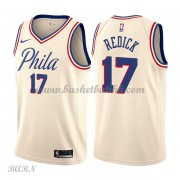 Barn Basketball Drakter Philadelphia 76ers 2018 J.J. Redick 17# City Edition Swingman..