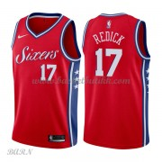 Barn Basketball Drakter Philadelphia 76ers 2018 J.J. Redick 17# Statement Edition Swingman..