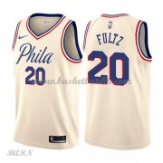 Barn Basketball Drakter Philadelphia 76ers 2018 Markelle Fultz 20# City Edition Swingman..