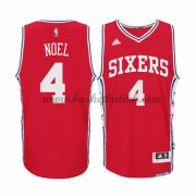 Philadelphia 76ers NBA Basketball Drakter 2015-16 Nerlens Noel 4# Alternate Drakt..