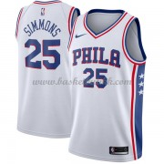 Philadelphia 76ers NBA Basketball Drakter 2018 Ben Simmons 25# Association Edition..