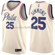 Philadelphia 76ers NBA Basketball Drakter 2018 Ben Simmons 25# City Edition..
