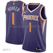 Barn Basketball Drakter Phoenix Suns 2018 Devin Booker 1# Icon Edition Swingman..
