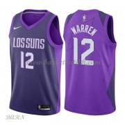 Barn Basketball Drakter Phoenix Suns 2018 T.J. Warren 12# City Edition Swingman..