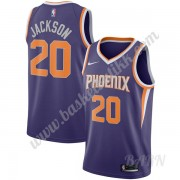 Barn Basketball Drakter Phoenix Suns 2019-20 Josh Jackson 20# Purple Icon Edition Swingman Drakt..