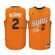 Phoenix Suns NBA Basketball Drakter 2015-16 Eric Bledsoe 2# Orange Alternate Drakt..