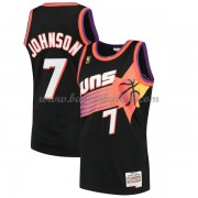 Phoenix Suns Mens 1996-97 Kevin Johnson 7# Black Hardwood Classics..