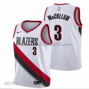 Barn Basketball Drakter Portland Trail Blazers 2018 C.J. McCollum 3# Association Edition Swingman..