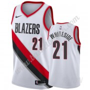 Barn Basketball Drakter Portland Trail Blazers 2019-20 Hassan Whiteside 21# Hvit Association Edition..