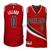 Portland Trail Blazers NBA Basketball Drakter 2015-16 Damian Lillard 0# Alternate Drakt..