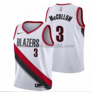 Portland Trail Blazers NBA Basketball Drakter 2018 C.J. McCollum 3# Association Edition..