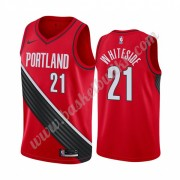 Portland Trail Blazers NBA Basketball Drakter 2019-20 Hassan Whiteside 21# Rød Statement Edition Swi..