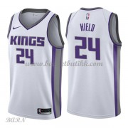 Barn Basketball Drakter Sacramento Kings 2018 Buddy Hield 24# Association Edition Swingman..