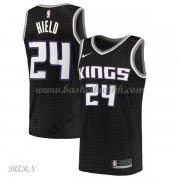 Barn Basketball Drakter Sacramento Kings 2018 Buddy Hield 24# Statement Edition Swingman..