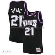 Barn Basketball Drakter Sacramento Kings Kids 2000-01 Vlade Divac 21# Black Hardwood Classics Swingm..