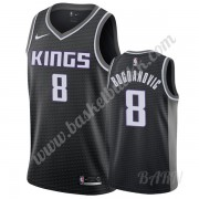 Barn Basketball Drakter Sacramento Kings 2019-20 Bogdan Bogdanovic 8# Svart Statement Edition Swingm..