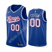 Barn Basketball Drakter Sacramento Kings 2019-20 Blå Classics Edition Swingman Drakt..