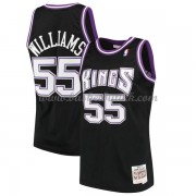 Sacramento Kings Mens 2000-01 Jason Williams 55# Black Hardwood Classics..
