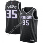Sacramento Kings NBA Basketball Drakter 2019-20 Marvin Bagley III 35# Svart Statement Edition Swingm..