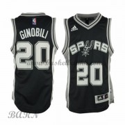 Barn Basketball Drakter San Antonio Spurs 2015-16 Manu Ginobili 20# Road..