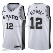 Barn Basketball Drakter San Antonio Spurs 2018 LaMarcus Aldridge 12# Association Edition Swingman..