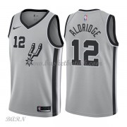 Barn Basketball Drakter San Antonio Spurs 2018 LaMarcus Aldridge 12# Statement Edition Swingman..