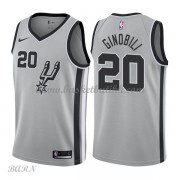 Barn Basketball Drakter San Antonio Spurs 2018 Manu Ginobili 20# Statement Edition Swingman..