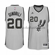 San Antonio Spurs NBA Basketball Drakter 2015-16 Manu Ginobili 20# Alternate Drakt..