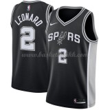 San Antonio Spurs NBA Basketball Drakter 2018 Kawhi Leonard 2# Icon Edition