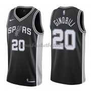 San Antonio Spurs NBA Basketball Drakter 2018 Manu Ginobili 20# Icon Edition..