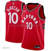 Barn Basketball Drakter Toronto Raptors 2018 DeMar DeRozan 10# Icon Edition Swingman..