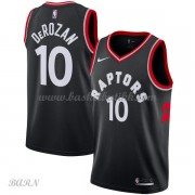 Barn Basketball Drakter Toronto Raptors 2018 DeMar DeRozan 10# Statement Edition Swingman..