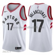 Barn Basketball Drakter Toronto Raptors 2018 Jonas Valanciunas 17# Association Edition Swingman..