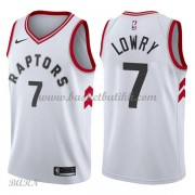 Barn Basketball Drakter Toronto Raptors 2018 Kyle Lowry 7# Association Edition Swingman..