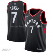 Barn Basketball Drakter Toronto Raptors 2018 Kyle Lowry 7# Statement Edition Swingman..