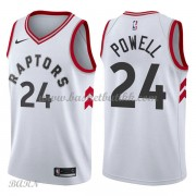 Barn Basketball Drakter Toronto Raptors 2018 Norman Powell 24# Association Edition Swingman..