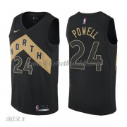 Barn Basketball Drakter Toronto Raptors 2018 Norman Powell 24# City Edition Swingman..